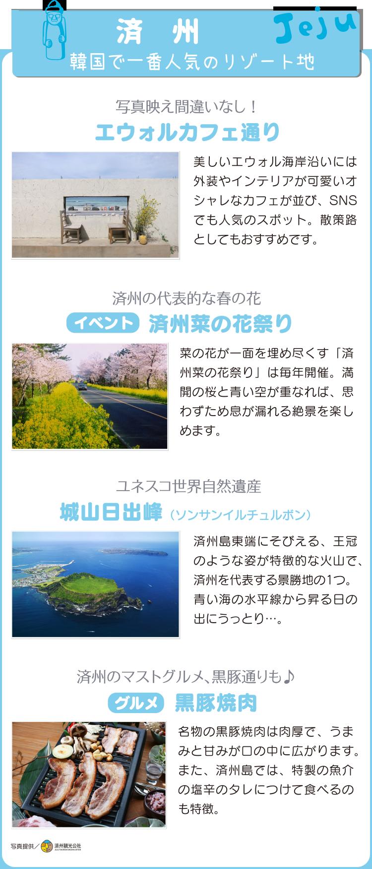 済州の穴場スポット